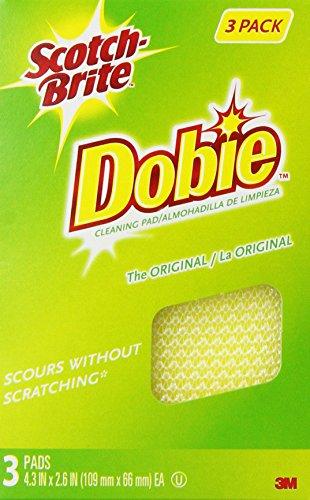 Scotch-Brite Dobie All-Purpose Pad, 3 Count Pack of 8