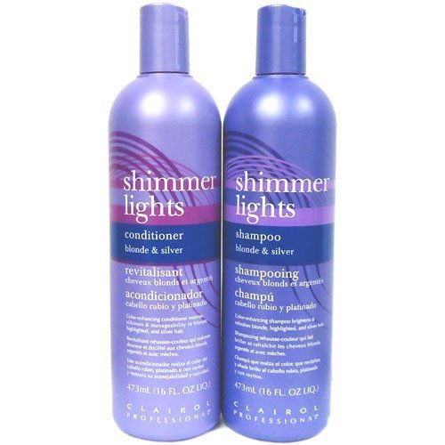 Clairol Shimmer Lights 16 oz. Shampoo + 16 oz. Conditioner Combo Deal