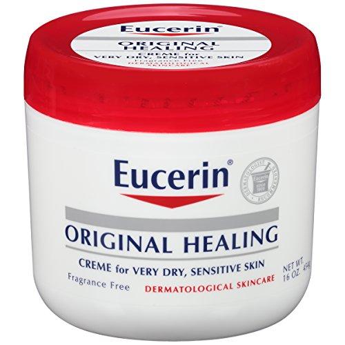 Eucerin Original Healing Rich Creme 16 oz Pack of 2