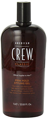 American Crew Firm Hold Styling Gel, 33.8-Ounce Bottle