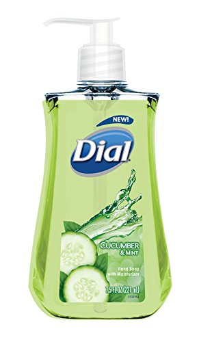 Dial Liquid Hand Soap, Cucumber & Mint, 7.5 Ounce