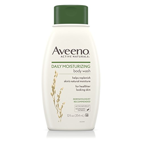 Aveeno Daily Moisturizing Body Wash, 12 Fl. Oz. Pack of 3