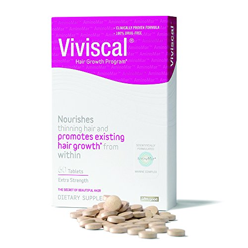 Viviscal Extra Strength Hair Nutrient Tablets, 60-Tablets Packaging May Vary
