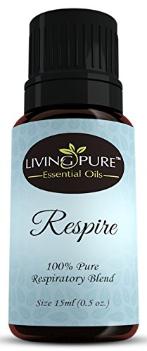15ml – #1 Respiratory Essential Oil & Sinus Relief Blend – Supports Allergy Relief, Breathing, Congestion Relief, & Respiratory Function – 100% Organic Therapeutic & Aromatherapy Grade