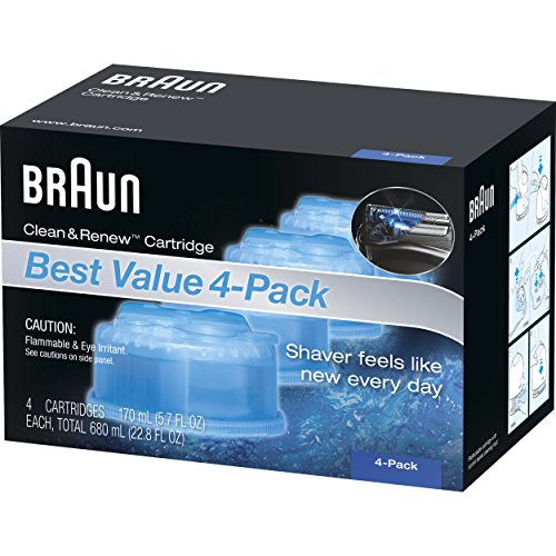 Braun Clean & Renew Frustration Free Refill Cartridges CCR 4