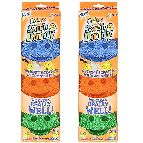 Scrub Daddy Colors, 6 Pack