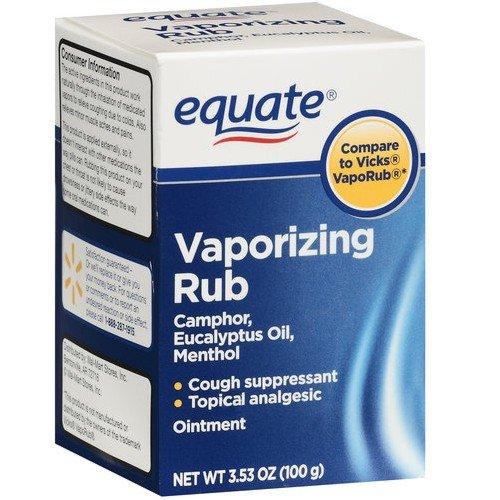 Vaporizing Rub, 3.53 oz Compare to Vicks VapoRub 1 – Equate