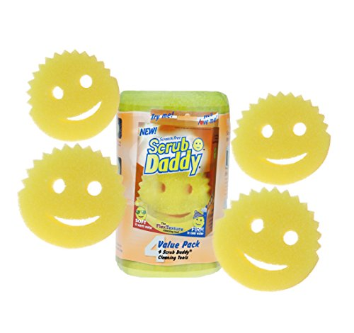 Scratch Free Scrub Daddy Pack of 4