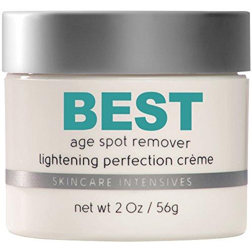Strongest Non Prescription Treatment Available – Dark Spot Corrector – Excellent Brown Spot, Rosacea and Scar Cream – Best Age Spot Remover – 2 Oz Jar
