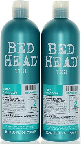 TIGI Bed Head Urban Anti-dote Recovery Shampoo & Conditioner Duo Damage Level 2 25.36oz