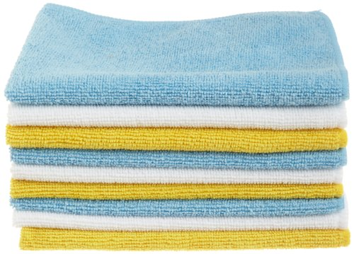 24 Pack – AmazonBasics Microfiber Cleaning Cloth
