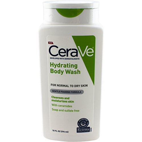 CeraVe Hydrating Body Wash, 10 Fluid Ounce