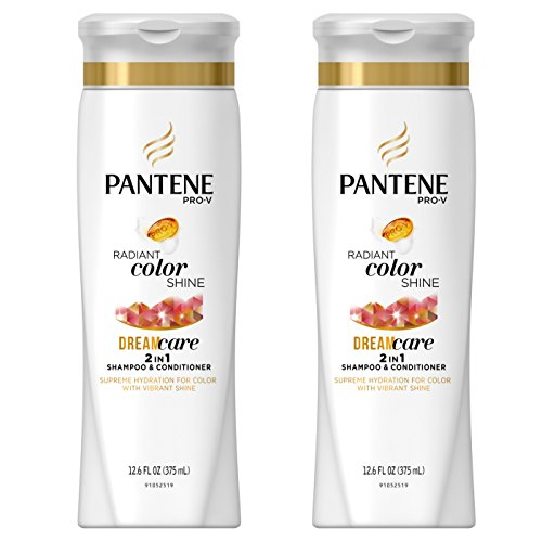 Pantene Pro-V Color Revival Shine 2in1 Shampoo and Conditioner, 12.6 FL OZ Pack of 2