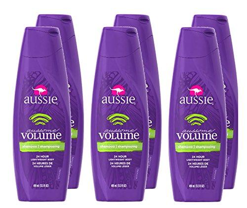 Aussie Aussome Volume Shampoo, 13.5 Fl Oz Pack of 6