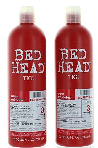 TIGI Bed Head Resurrection Shampoo/Conditioner 25.36oz Set