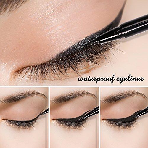 Docolor Waterproof Liquid Eyeliner Eye Liner Gel Black