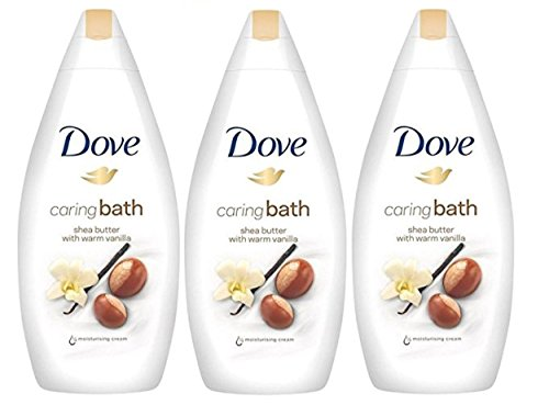 Dove Purely Pampering Body Wash, Shea Butter with Warm Vanilla, 16.9 Ounce / 500 Ml Pack of 3