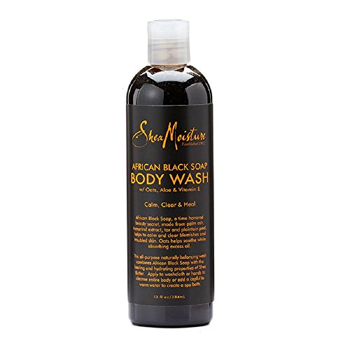SheaMoisture 13 oz African Black Soap Body Wash