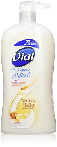 Dial Body Wash, Greek Yogurt Vanilla Honey with Moisturizers, 32 Fluid Ounces