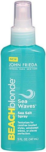 John Frieda Beach Blonde Sea Waves Sea Salt Spray, 5 Ounce