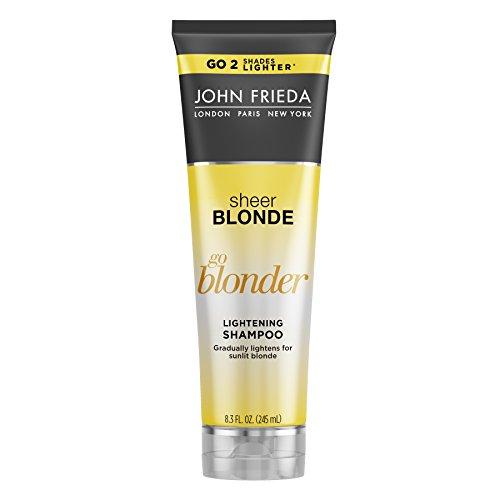 John Frieda Sheer Blonde Go Blonder Lightening Shampoo, 8.3 Ounce