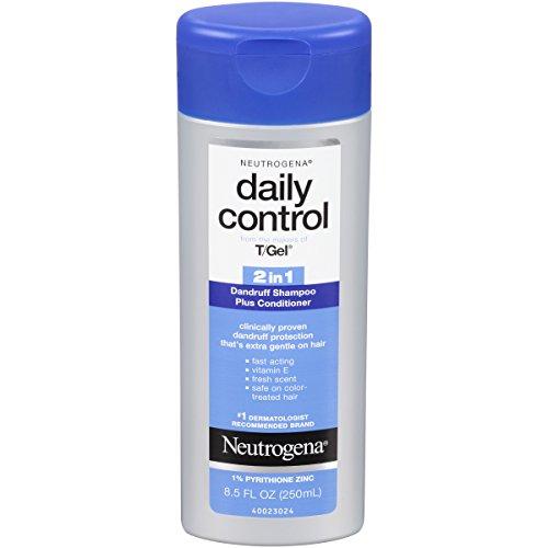 Neutrogena T/Gel Daily Control 2-In-1 Dandruff Shampoo Plus Conditioner, 8.5 Fl. Oz.