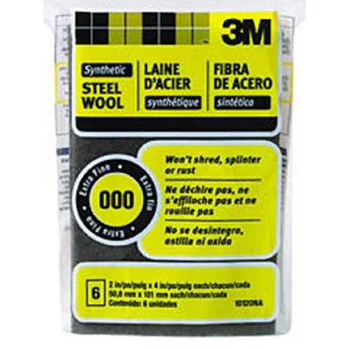 0000 Steel Wool On Shower Glass: 3M 10120 Synthetic Steel Wool
