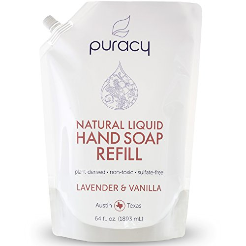 Puracy Natural Foaming Hand Soap Sulfate Free Developed