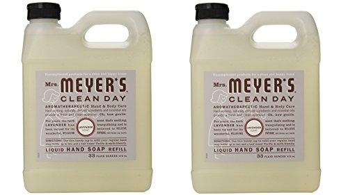 Mrs Meyer S Hand Soap Lavender 12 5 Fluid Ounce Pack Of