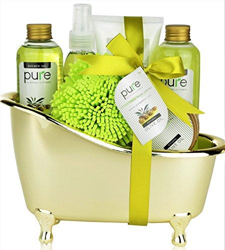 Pure rachelle parker luxury spa basket lush bath body