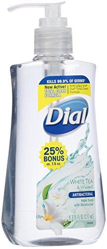 Dial Liquid Hand Soap White Tea Vitamin E 9 375 Ounce
