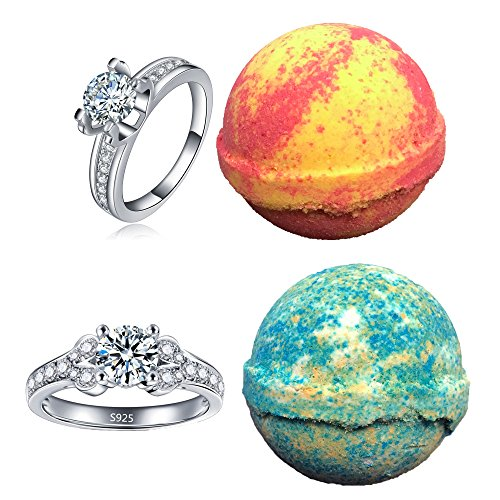 bath bombs with jewelry bath bomb with ring inside mermaid daydream large 10 5976
