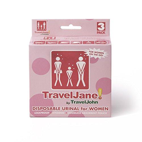 Traveljohn Jr Disposable Urinal Bags 12 Jr Urinal Bags