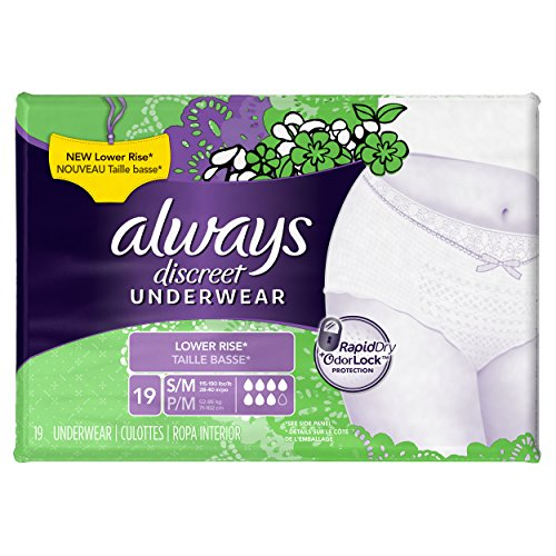 Always Discreet Boutique Incontinence Underwear For Women