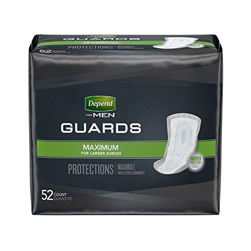 Depend For Men Shields Light Absorbency 58 Ct Personal