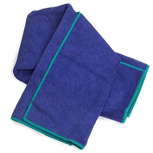 Yogaaddict Yoga Mat Towel Hand Towel Combo Set 100: 100% Microfiber Technology