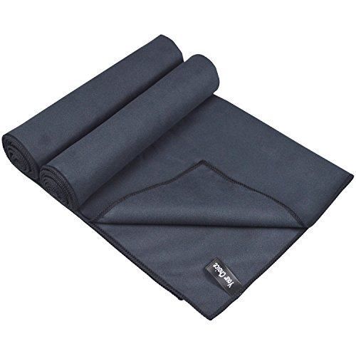 16 X 11 Sweat Towel: Microfiber Golf Towel Black Pack Of 2 Sweat Face Hand