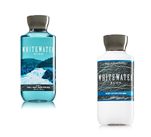 Bath And Body Works Men Gift Set Lotion 2 In 1 Hair Body