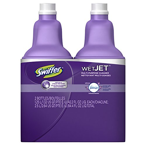 Swiffer Wetjet Hardwood Floor Cleaner Spray Mop Pad Refill