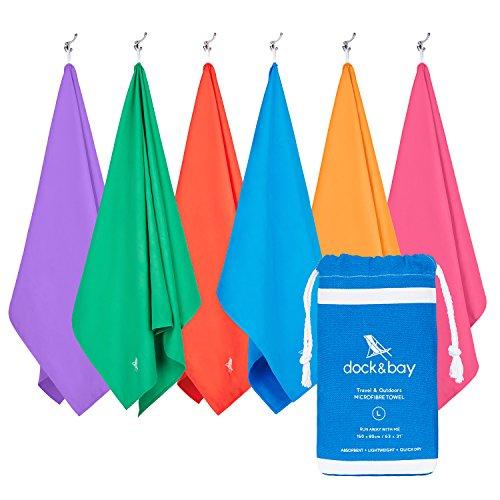 Fit-Flip Microfiber Towel in ALL Sizes / 8 Colors + Bag ...