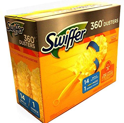 Swiffer Dusters Heavy Duty Extender Handle Starter Kit 1