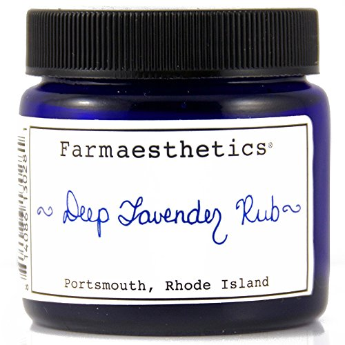 Farmaesthetics Deep Lavender Rub Chest, Neck, Hands and Feet 1.5 oz