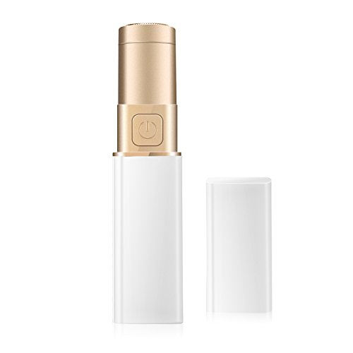 Facial Hair Removal for Women,Sunvito Women's Lipstick Razor Electric Shaver Painless Remove Hairs on the Face, Legs, Hands, Bikini Parts And Private Parts