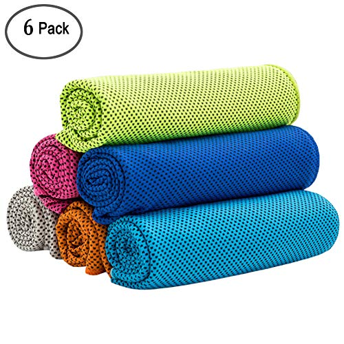 16 X 11 Sweat Towel: MAYOUTH Microfiber Sports Towels Fast Drying & Absorbent