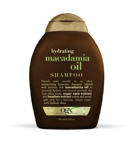 OGX Shampoo, Hydrating Macadamia Oil, 13 Fluid Ounce