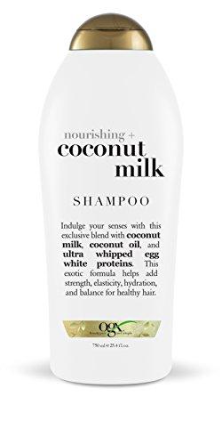 OGX Nourishing Shampoo, Coconut Milk, Salon Size, 25.4 Fluid Ounce