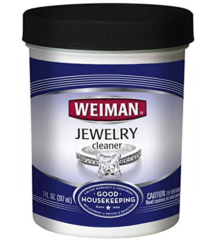 Weiman Jewelry Cleaner Liquid, 7 Fluid Ounce