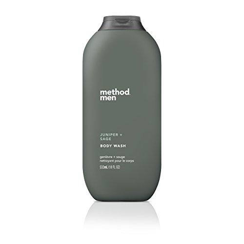Method Mens Body Wash, Juniper + Sage, 18 Ounce