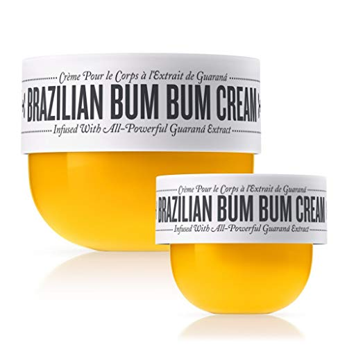 Sol de Janeiro Bum Bum Cream, Includes a full size 240ml and a travel size 75ml Brazilian Bum Bum Cream. – Bundle 2 pack