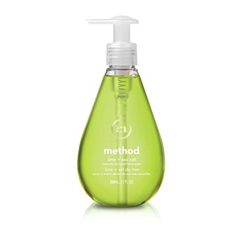 Method Gel Hand Soap, Lime + Sea Salt, 12 Ounce
